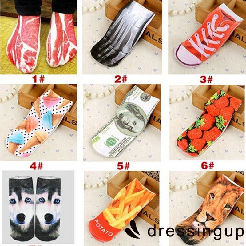 SSG-9 Colors Women Socks Casual Socks Unisex Low Cut Ankle Socks Funny Lovely