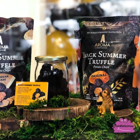 Aroma Black Summer Truffle Potato Chip Bundle of 5