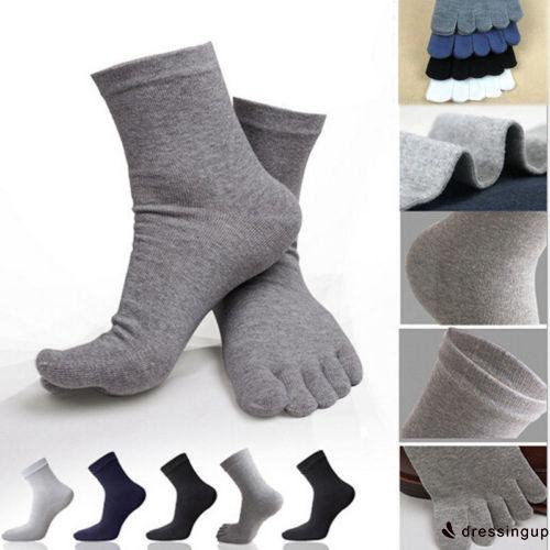GUU-2018 Hotest and New Solid Color Finger Socks Five Toe Cotton Socks Unisex