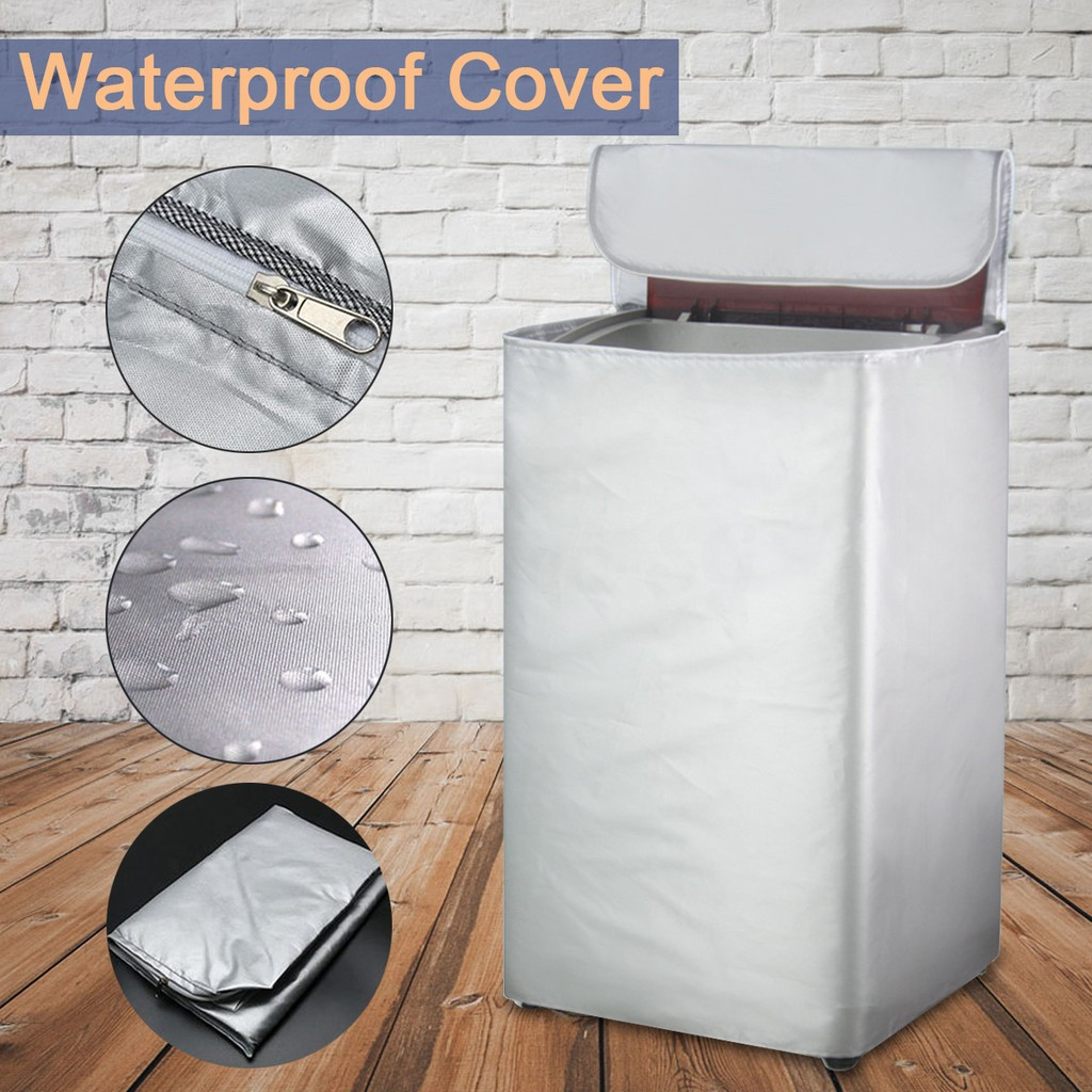 Washing Machine Cover Silver Water-proof_GF