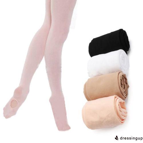 IEI-Kids & Adults Convertible Tights Dance Stocking Socks Ballet Pantyhose