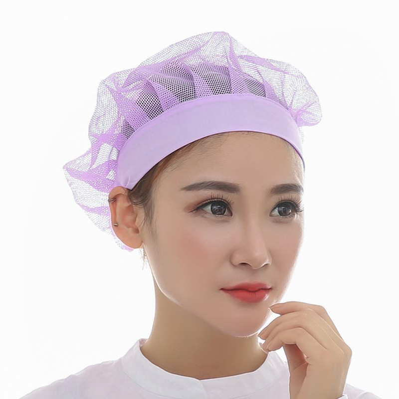 Kitchen Hats Anti-Dust Restaurant Ladies Work Cap UC0578