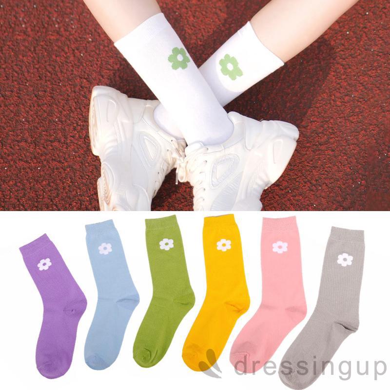 d❃♪Classic Korean Version Of The Tube In The Wild Women Socks