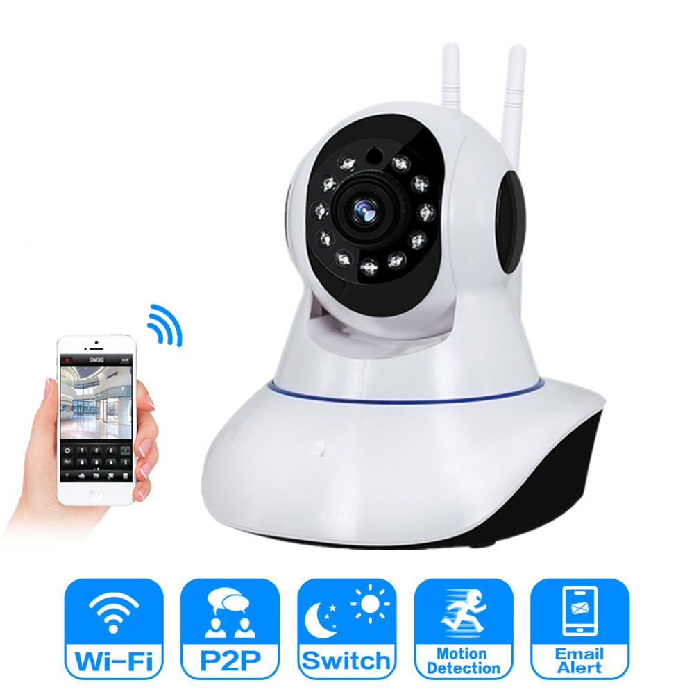 Ip Camera 1080p CCTV Wireless Security Wifi Camera Night Vision 360Eye S APP
